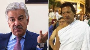 khawja asif and imran khan